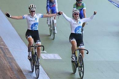 Piste – Championnats de France – Hyères 2017 – Endurance – Américaine – Élite femmes – Berthon-Borras