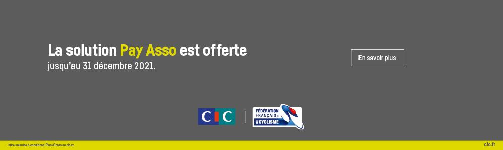 Bannières Pay Asso CIC